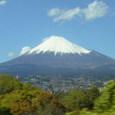 新幹線車中からの富士山2