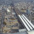 上から見た岐阜駅