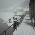 雪の猿谷ダム